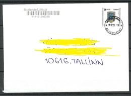 ESTLAND ESTONIA 2019 O NURMENUKU Inlandbrief Domestic Letter - Estland