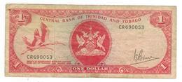 Trinidad & Tobago, 1 Dollar . P-30, L.1964.   F. - Trinidad & Tobago