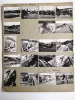 36 PHOTOGRAPHIE : ACCIDENT PONT DE MERREY LOCOMOTIVE TRAIN CONSTRUCTION 52 HAUTE-MARNE TRAIN LOCOMOTIVE 91 ESSONNE - Frankrijk