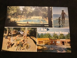 Montalivet Les Bains Naturiste C.h.m Le Centre Helio Marin Cpm - Autres Communes