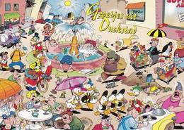 WALT DISNEY  Mickey Mouse Donald Duck  Modern Postcard - Illustrateurs & Photographes