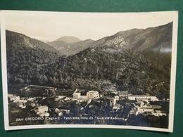Cartolina San Gregorio - Cagliari - Panorama Visto Da Guardia Ladronis - 1934 - Cagliari