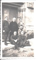 M. Desreumaux, Professeur à Marcq, M. Le Curé, Jacques Cornette, Démineur à Versailles, L'Ordonnance Du Lieutenant - Guerra, Militari
