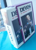 Coffret VHS DEVOS Au Palais Royal Et Au Théâtre Antoine - Altri
