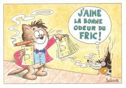 CPM - J'aime La Bonne Odeur Du Fric ! - Humour