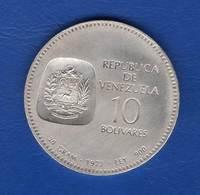 Venezuela  10  Bolivar  1973 Arg Sup - Venezuela
