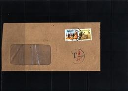 Zimbabwe 1991 Interesting  Cover With Postage Due Postmark - Zimbabwe (1980-...)