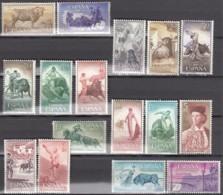 SPANIEN  1151-1166, Postfrisch **, Stierkampf 1960 - 1931-Heute: 2. Rep. - ... Juan Carlos I