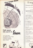 (pagine-pages)PUBBLICITA' VESPA     Epoca1958/397. - Altri