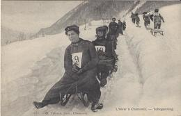 74 CHAMONIX MONT BLANC SPORTS HIVER TOBOGANNING Editeur TAIRRAZ 633 - Chamonix-Mont-Blanc
