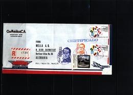 Venezuela Interesting  Airmail Registered Cover - Venezuela