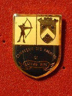 PIN'S TIR A L'ARC - COMPAGNIE DES ARCHERS DE BALLAN MIRE - Archery
