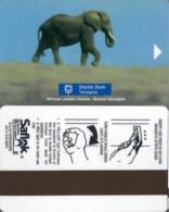 02 Tanzania- 2113  Elefant  == Hotel Room Keycard, Room Keys, Hotelkarte, Clef De Hotel -   2113 - Cartes D'hotel