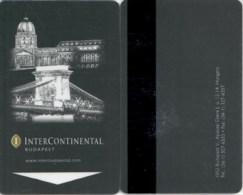 InterContinental Bucharest== Hotel Room Keycard, Room Keys, Hotelkarte, Clef De Hotel - - Cartes D'hotel
