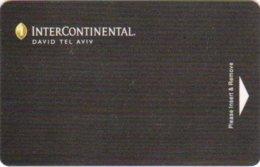 InterContinental-David-Tel-Aviv[2135]== Hotel Room Keycard, Room Keys, Hotelkarte, Clef De Hotel -   2135 - Cartes D'hotel