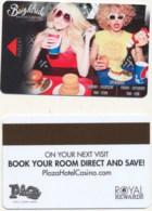 Plaza Brightside 2260== Hotel Room Keycard, Room Keys, Hotelkarte, Clef De Hotel - 2160 - Cartes D'hotel
