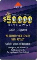 Plaza-50000-Giveaway[1310]== Hotel Room Keycard, Room Keys, Hotelkarte, Clef De Hotel - 1310 - Cartes D'hotel