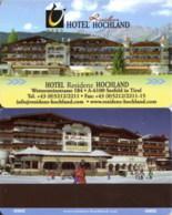 Residenz Hochland 2 Seefeld Tirol---2140== Hotel Room Keycard, Room Keys, Hotelkarte, Clef De Hotel - 2140 - Cartes D'hotel