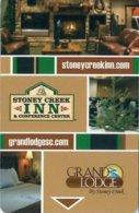 Stoney-Creek-Inn--amp--Conference-Center[2187]== Hotel Room Keycard, Room Keys, Hotelkarte, Clef De Hotel - 2187 - Cartes D'hotel