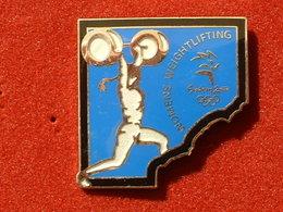 PIN'S HALTEROPHILIE - J.O SYDNEY 2000 WOMEN WEIGHTLIFTING - Haltérophilie