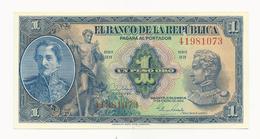 Colombia 1 Peso 1954 UNC - Colombie