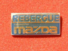 PIN'S MAZDA - REBERGUE AUTOMOBILES - Pins