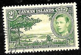 Cayman Scott 109 Used VF CV 18.00 - Cayman Islands