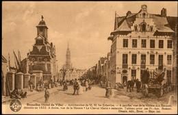 BRUXELLES :  Hôtel De Ville Etc. - Places, Squares