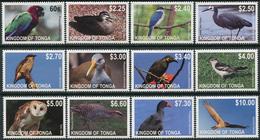 Tonga 2012. Michel #1742/53 MNH/Luxe. Birds. (Ts02) - Tonga (1970-...)