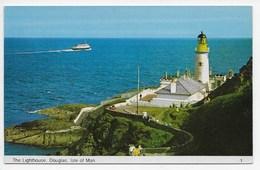 The Lighthouse, Douglas, Isle Of Man - Bamforth Colour Gloss 1 - Isle Of Man