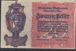 Liechtenstein 20 HELLERA 1920 - Liechtenstein