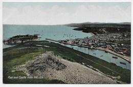 Peel Castle From Hill, I.O.M. - Bazaar Series - JV 20700 - Isle Of Man