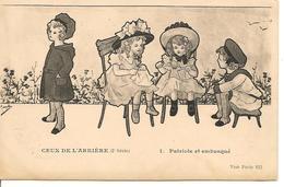 CEUX De L'ARRIÈRE Illustrateur MARYEL Patriotique Guerre 1914/1918 Enfants Série 2 N°1 - Altre Illustrazioni