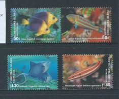 Christmas Island 2013 Fish Set Of 4 MNH - Christmas Island