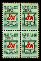 1972 S&H Sperry & Hutchinson Green Stamps - Stamps