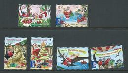 Christmas Island 2011 - 2013 The 3 Xmas Sets MNH - Christmas Island