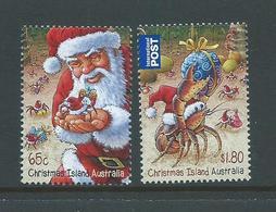 Christmas Island 2014 Xmas Set Of 2 & Miniature Sheet MNH - Christmas Island