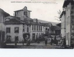 SAINT-PRIEST-LA-PRUGNE PRES DE SAINT-JUST-EN-CHEVALET 42 LOIRE - France