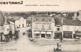 LA PACAUDIERE LAPACAUDIERE RUE DE L'HOTEL DU COMMERCE 42 LOIRE - La Pacaudiere