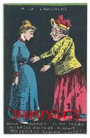 CPA - HUMOUR 1905 - Dame Maman Il Me Fallait Du Lait ! Le Docteur M'avait Prescrit Le Régime Lacté ! - Scans Recto-Verso - Humour