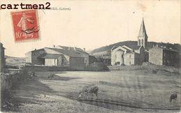 BURDIGNES FERME EGLISE 42 LOIRE - Frankreich