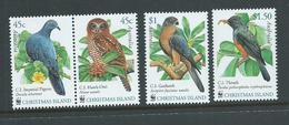 Christmas Island 2002 WWF Bird Set Of 4 - Pair & 2 Singles - MNH - Christmas Island