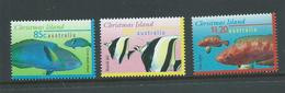 Christmas Island 1997 Fish Marine Life Definitives 85c 95c & $1.20 Singles MNH - Christmas Island