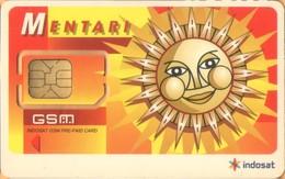 Indonesia - GSM SIM, Indosat, Mentari - Sun, Mint / Unused - Indonesia