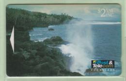 Fiji - 1993 Scenic Issue - $2 Blow Holes - FIJ-020 - FU - Fiji