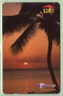 "Fiji - 2000 Dawn & Dusk - $20 Palm - ""30FJE"" - FIJ-165 - VFU - Fidschi"