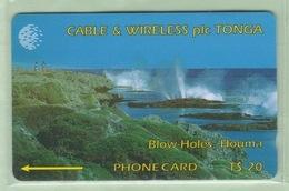 Tonga - 1994 First Issue - $20 Blow Holes - TON-3 - VFU - Tonga