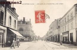LE COTEAU UNE PARTIE DE LA GRANDE RUE PRES DE LA GARE 42 LOIRE - Francia