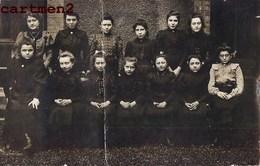 CARTE PHOTO 1908 : LE CHAMBON-FEUGEROLLES ECOLIERE COLLEGE LYCEE INTERNAT 42 LOIRE - Le Chambon Feugerolles