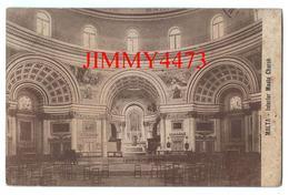 CPA - MALTA -  Intérior Musta Church  - Scans Recto-Verso - Malte